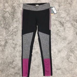 Womens Workout Tights Leggings Pants Small S New